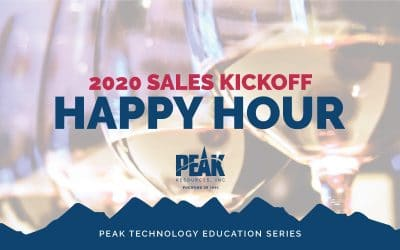 2020 Sales Kickoff Happy Hour
