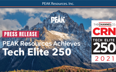 PEAK Resources Named to  CRN Tech Elite 250 List for 7th Time